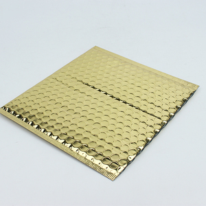 Gold aluminized film  Bubble mailer