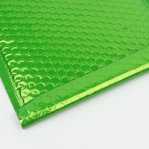 Green aluminized film  Bubble mailer