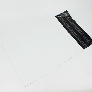 Black and white Poly  Mailer