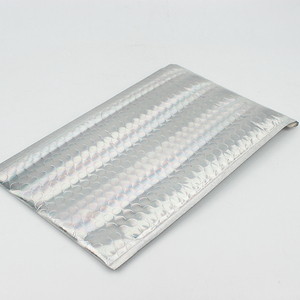 Silver aluminized film  Bubble mailer